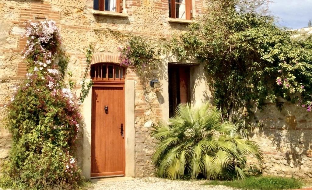 Gîte Pyrénées Orientales - Entrée du gîte les Aspres