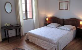 Chambre 1 du gîte - Domaine de Montcalm - Location dans les Pyrénées Orientales