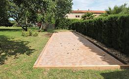 Gîte Pyrénées Orientales - Terrain de pétanque
